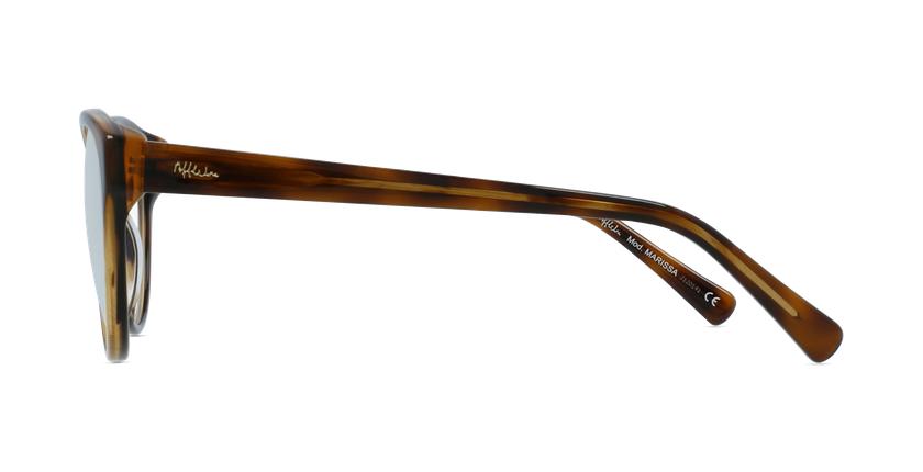 Lunettes de vue femme OAF20521 écaille - Vue de côté