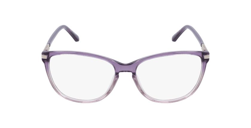 Lunettes de vue femme OAF20520 violet - Vue de face
