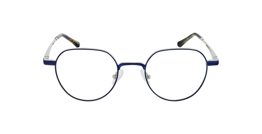 Lunettes de vue MAGIC 95 bleu/argenté - Vue de face