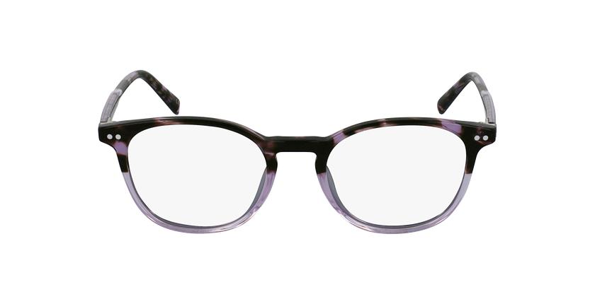 Lunettes de vue RAVEL violet - Vue de face