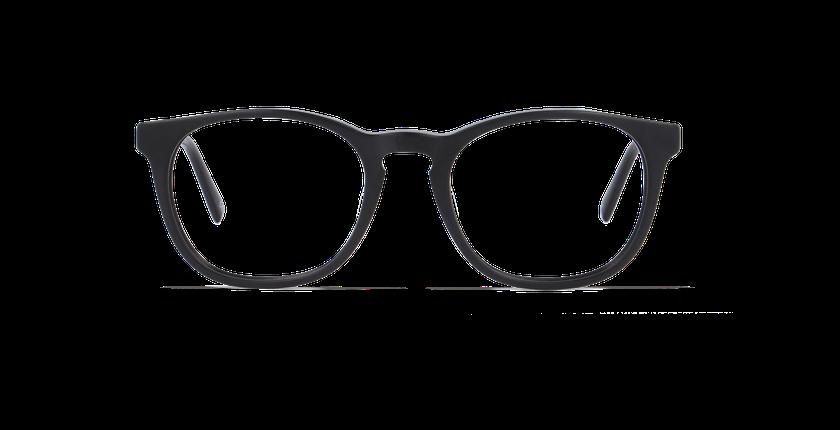 Lunettes de vue homme ORLAN noir - Vue de face
