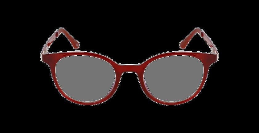 Lunettes de vue femme MAGIC 36 BLUEBLOCK rouge - Vue de face