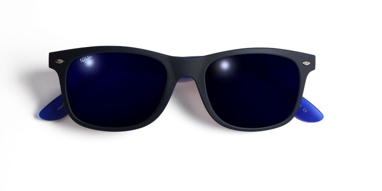 Lunettes de soleil homme CARUCEDO bleu
