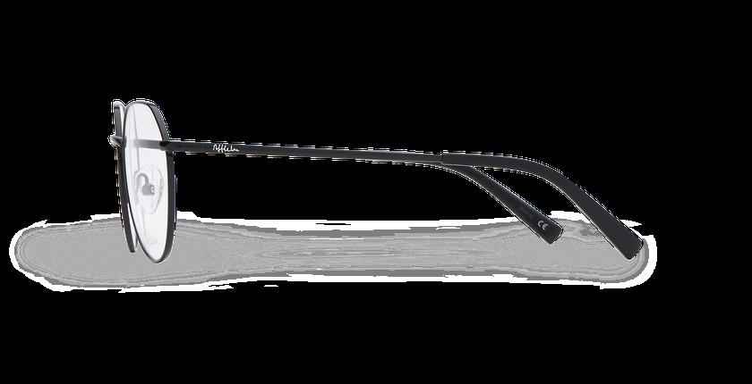 Lunettes de vue femme SELENA noir - Vue de côté