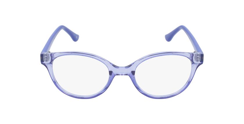Lunettes de vue enfant RZERO21 violet - Vue de face
