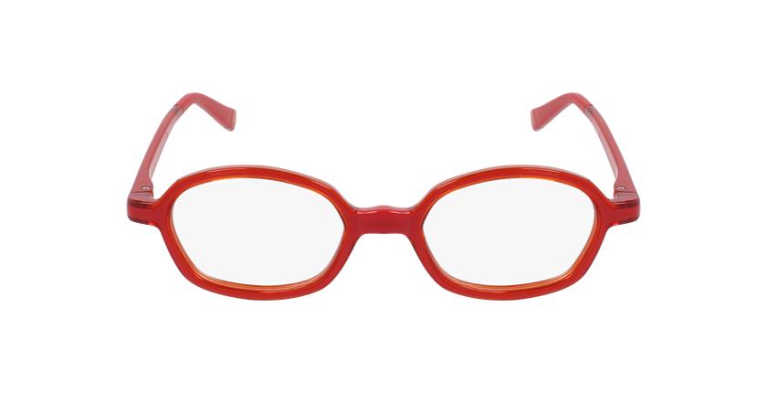 Lunettes de vue enfant RFOM2 rouge/orange - Vue de face