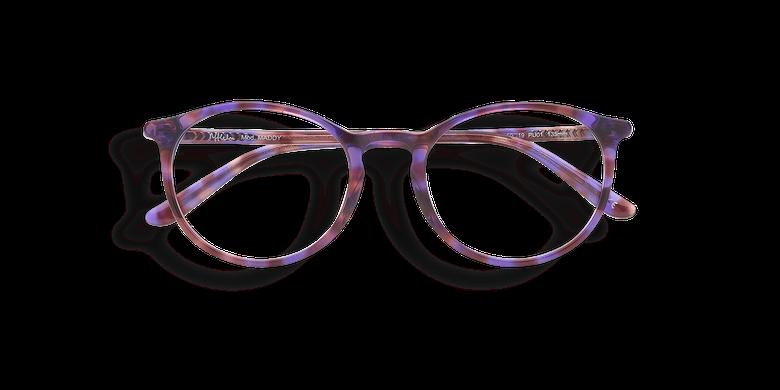 Lunettes de vue femme MADDY écaille/violet