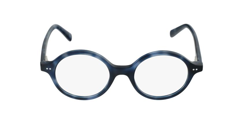 Lunettes de vue enfant HARRY bleu/écaille - Vue de face