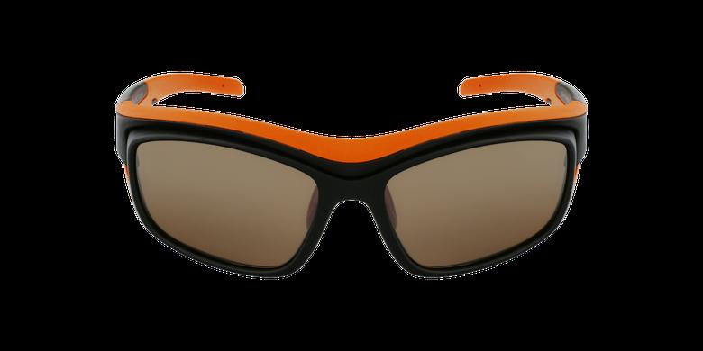 Lunettes de soleil Piment noir/orangeVue de face