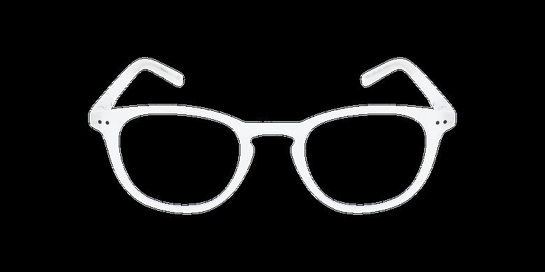 Lunettes de vue FORTY anti lumière bleue Blanche blanc/blancVue de face