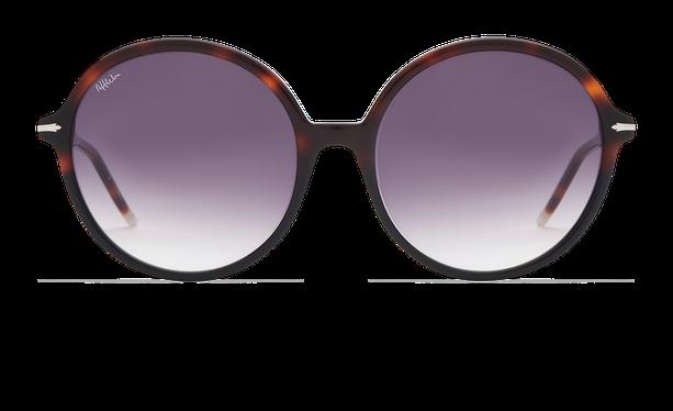 Lunettes de soleil femme KENDAL écaille/noir - danio.store.product.image_view_face