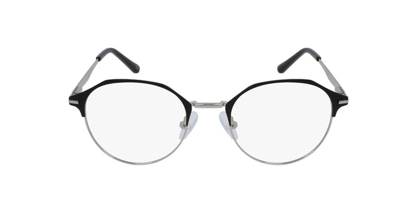 Lunettes de vue femme OAF20524 noir/argenté - Vue de face