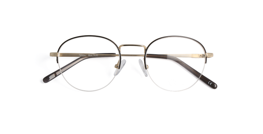 Lunettes de vue homme TILIO gris - Vue de face