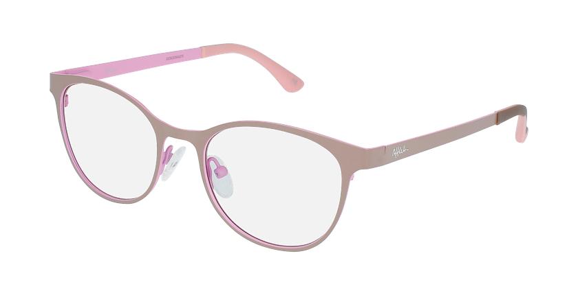 Lunettes de vue femme MAGIC 45 gris/rose - vue de 3/4