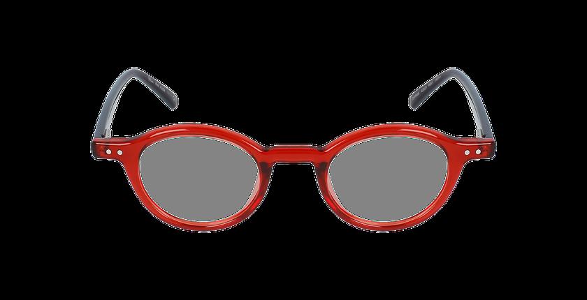 Lunettes de vue femme ALIDA rouge - Vue de face