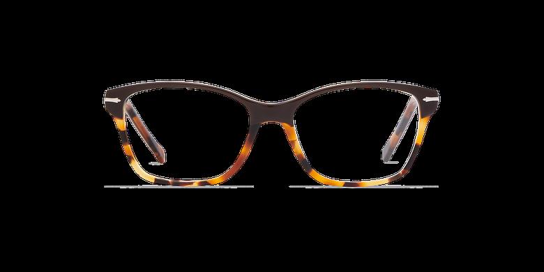 Lunettes de vue femme LADOYE marron/écaille