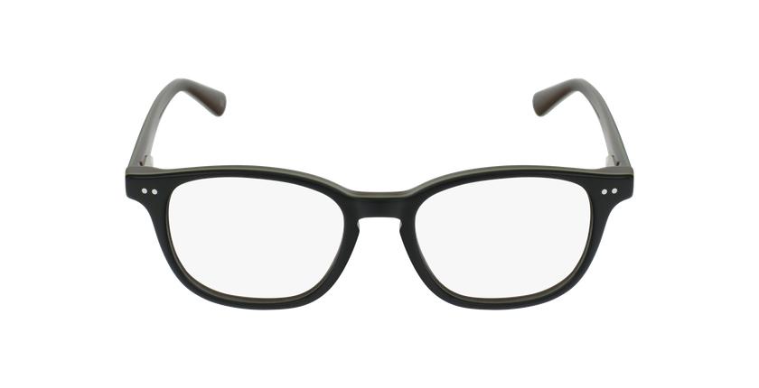 Lunettes de vue enfant SANDRO noir/vert - Vue de face