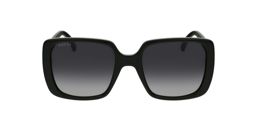 Lunettes de soleil femme GG632S noir - Vue de face