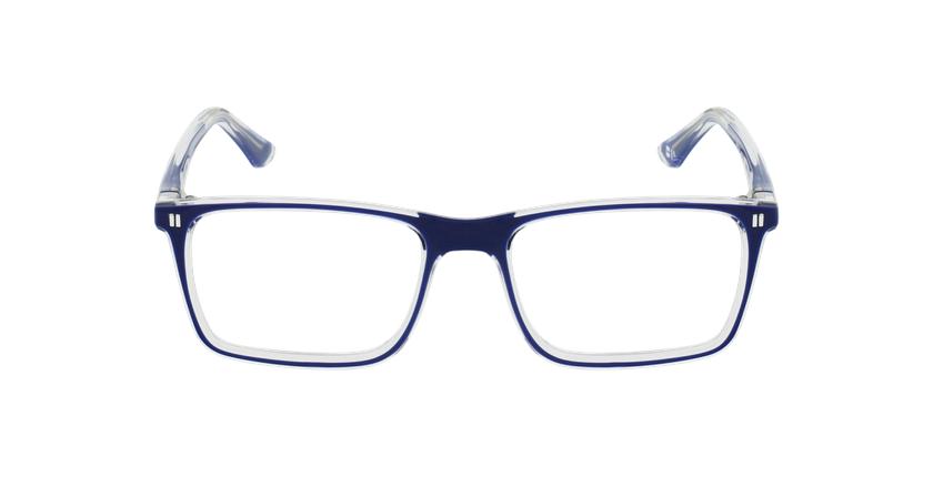 Lunettes de vue enfant REFORM TEENAGER1 bleu/cristal - Vue de face