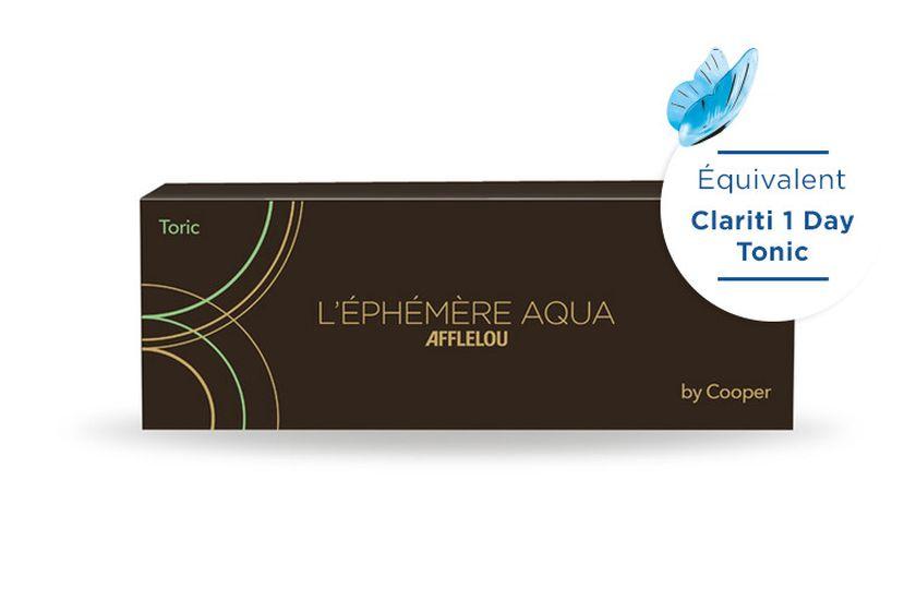 Lentilles de contact Ephémère Aqua Journalière Toric 30L - danio.store.product.image_view_face