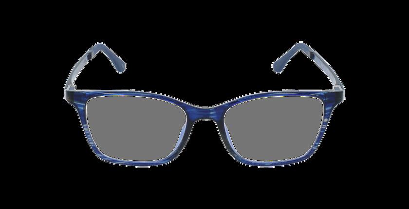 Lunettes de vue femme MAGIC 60 BLUEBLOCK bleu/violet - Vue de face