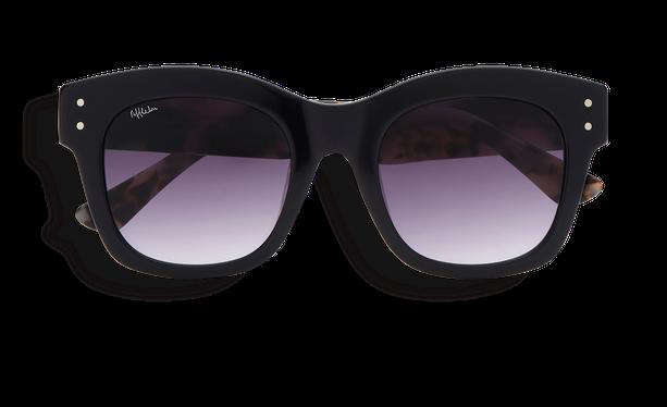 Lunettes de soleil femme ORNELLA noir/écaille - danio.store.product.image_view_face
