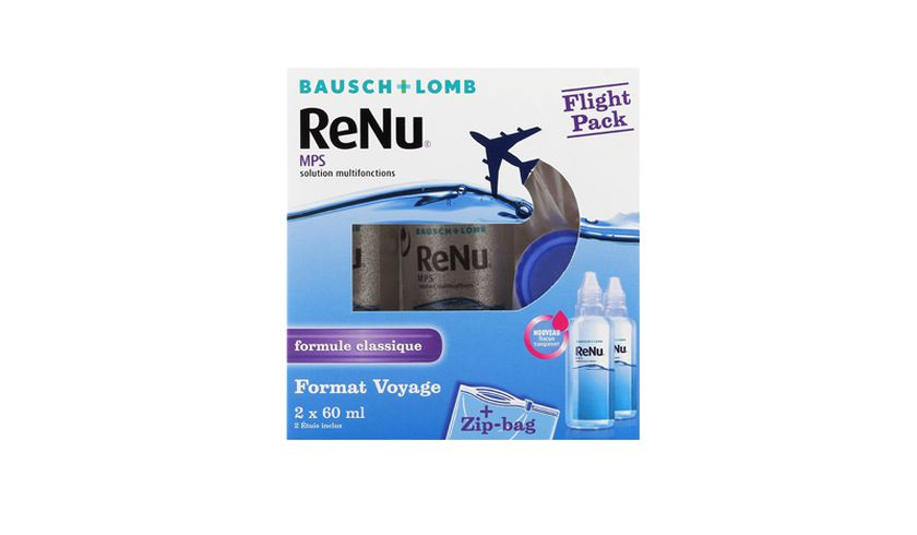 ReNu MPS Flight Pack 2x60ml - Vue de face