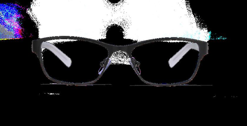 Lunettes de vue femme CORALIE noir - Vue de face