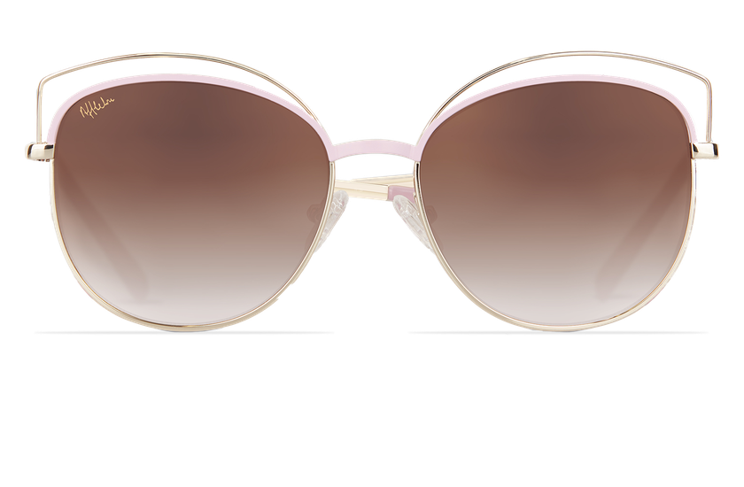 Lunettes de soleil femme BETTY rose/doré - danio.store.product.image_view_face
