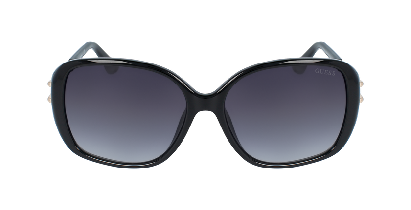 Lunettes de soleil femme GU7563 noir - Vue de face