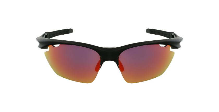 Lunettes de soleil homme Tech-Run noir - Vue de face
