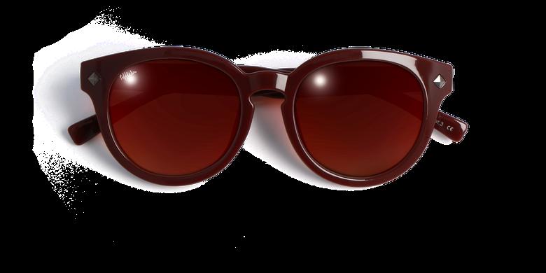 Lunettes de soleil femme CHARLOTTE rouge