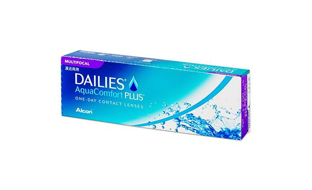 Lentilles de contact Dailies AquaComfort Plus Multifocal - Vue de face
