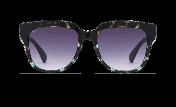 Lunettes de soleil femme OSANA écaille/vert - danio.store.product.image_view_face