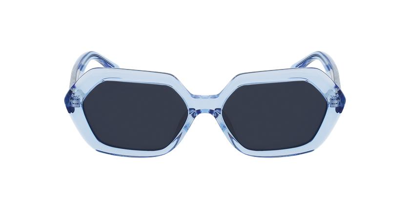 Lunettes de soleil femme ROSELYN bleu - Vue de face