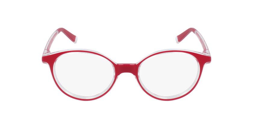 Lunettes de vue enfant RFOP2 rouge - Vue de face