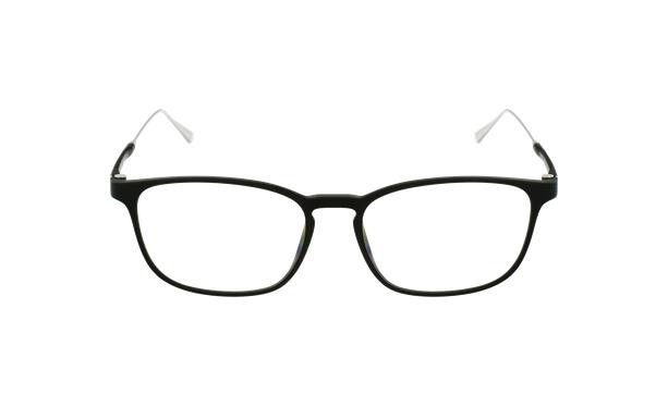 Lunettes de vue homme MAGIC 68 noir/argenté - Vue de face