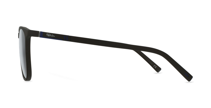 Lunettes de vue homme LOEVAN marron/bleu - Vue de côté