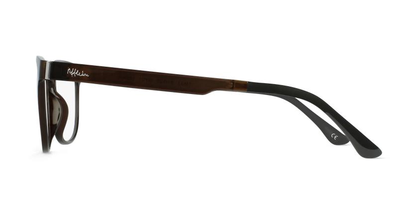 Lunettes de vue homme MAGIC 33 gris - Vue de côté
