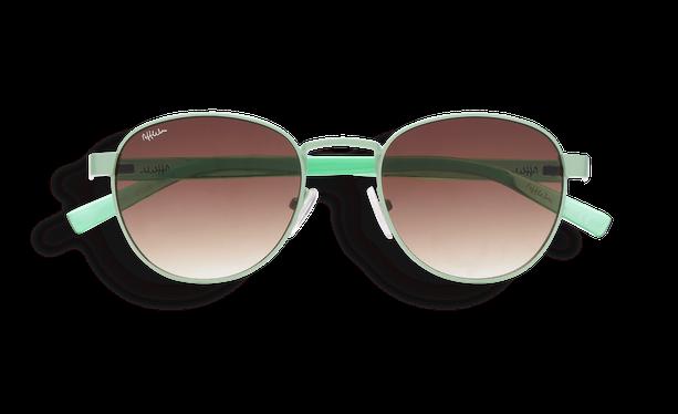 Lunettes de soleil femme FRUTTI vert - danio.store.product.image_view_face