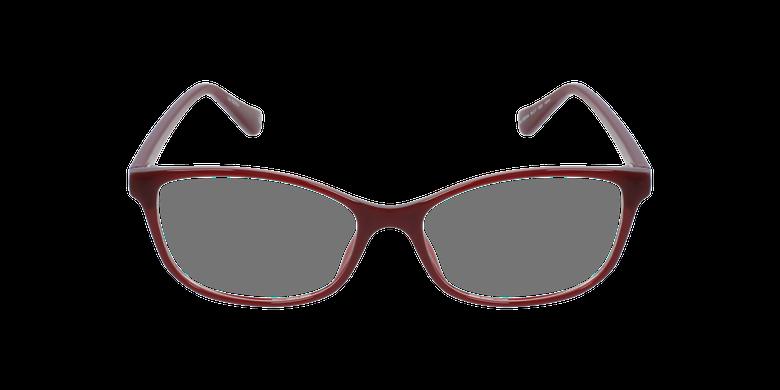 Lunettes de vue femme RZERO4 rougeVue de face
