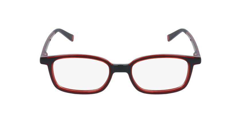 Lunettes de vue enfant REFORM PRIMAIRE 1 noir/rouge - Vue de face