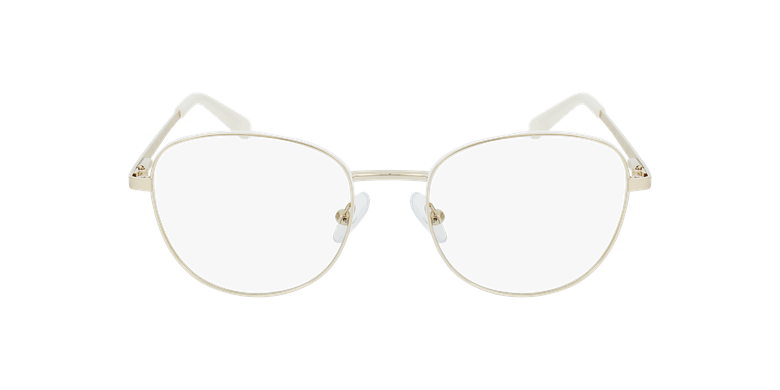 Lunettes de vue femme LISSOU blanc/doré