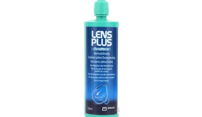 Lens Plus Ocupure 120ml - Vue de face