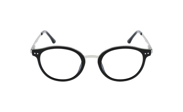 Lunettes de vue femme MAGIC 97 noir/argenté - Vue de face