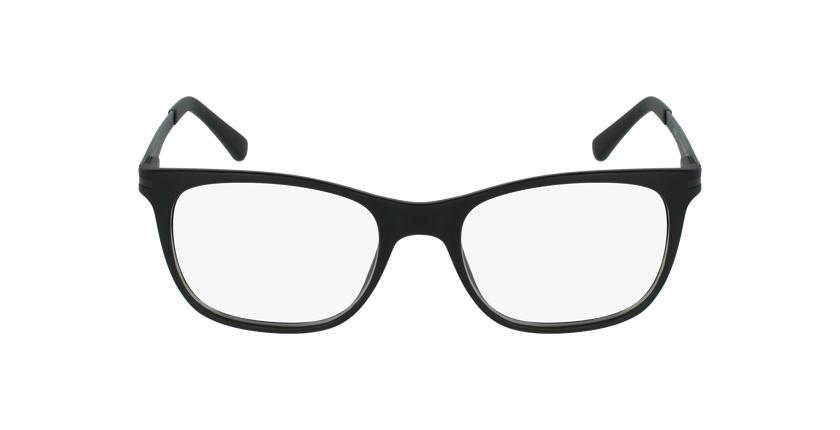 Lunettes de vue homme V1974 noir/gris - Vue de face