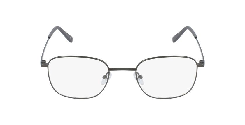 Lunettes de vue homme RZERO17 gris - Vue de face