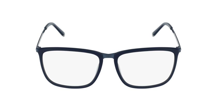 Lunettes de vue homme WAGNER bleu - Vue de face