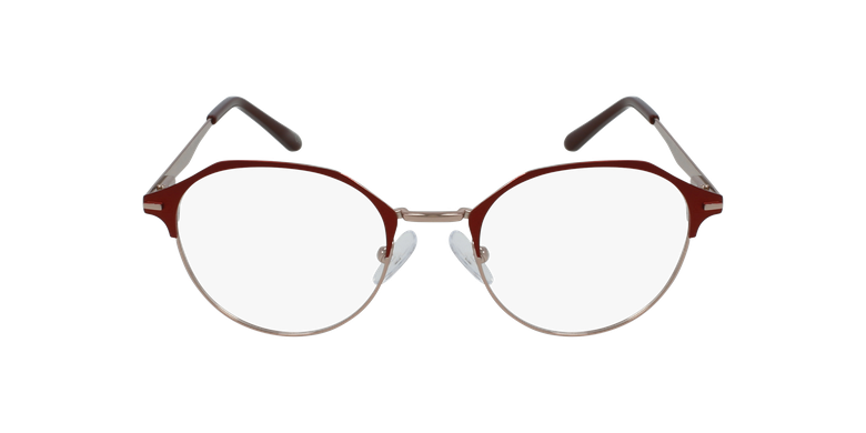 Lunettes de vue femme OAF20524 rouge/roseVue de face