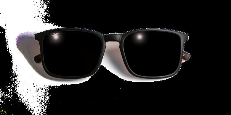 Lunettes de soleil homme SILVIO noir/écaille